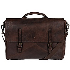 Made by Stitch - Malt 'Big Andrew' handcrafted laptop satchel