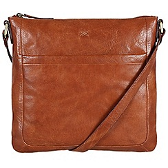 Made by Stitch - Cognac 'Essie' handmade leather bag