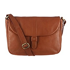 Made by Stitch - Toffee 'Harriet' soft leather small satchel