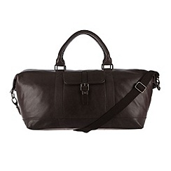 Made by Stitch - Cocoa 'Starboard' leather holdall