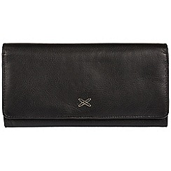 Made by Stitch - Black 'Karen' handmade leather RFID purse