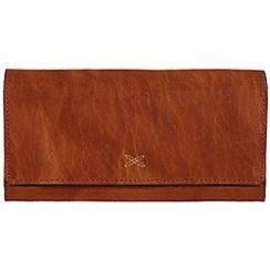 Made by Stitch - Cognac 'Karen' handmade leather purse