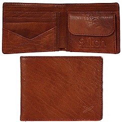 Made by Stitch - Cognac 'Hawkshead' handmade leather wallet