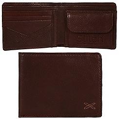 Made by Stitch - Espresso 'Hawkshead' handmade leather wallet