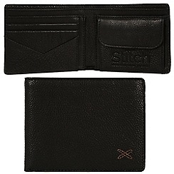 Made by Stitch - Liquorice 'Hawkshead' handmade leather wallet