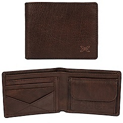 Made by Stitch - Malt brown 'Hawkshead' handcrafted leather RFID wallet