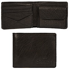 Made by Stitch - Black 'Keswick' handcrafted leather RFID wallet