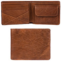Made by Stitch - Cognac 'Keswick' handcrafted leather RFID wallet