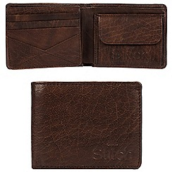 Made by Stitch - Malt brown 'Keswick' handcrafted leather RFID wallet