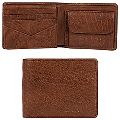 Made by Stitch - Treacle brown 'Keswick' handcrafted leather RFID wallet