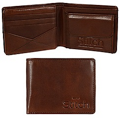 Made by Stitch - Veg-tan 'Keswick' handmade leather wallet
