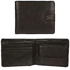 Made by Stitch - Black 'Axbridge' handmade leather RFID wallet