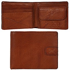 Made by Stitch - Cognac 'Axbridge' handmade leather wallet