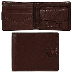 Made by Stitch - Espresso 'Axbridge' handmade leather wallet