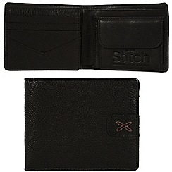 Made by Stitch - Liquorice 'Axbridge' handmade leather wallet