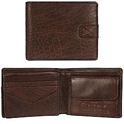 Made by Stitch - Malt brown 'Axbridge' handmade leather RFID wallet