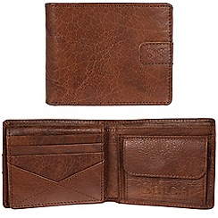 Made by Stitch - Treacle brown 'Axbridge' handmade leather RFID wallet