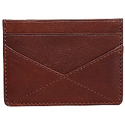 Made by Stitch - Cinnamon brown 'Staveley' handmade leather wallet
