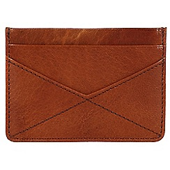 Made by Stitch - Cognac 'Staveley' handmade leather wallet