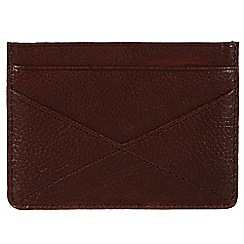 Made by Stitch - Espresso 'Staveley' handmade leather wallet