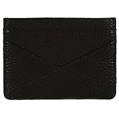 Made by Stitch - Liquorice 'Staveley' handmade leather wallet