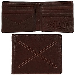 Made by Stitch - Espresso 'Bentham' handmade leather wallet