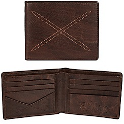Made by Stitch - Malt brown 'Bentham' handcrafted leather RFID wallet