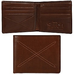 Made by Stitch - Veg-tan 'Bentham' handmade leather wallet
