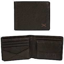 Made by Stitch - Black 'Rusland' handcrafted leather RFID wallet