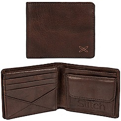 Made by Stitch - Malt brown 'Rusland' handcrafted leather RFID wallet