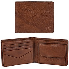 Made by Stitch - Treacle brown 'Rusland' handcrafted leather RFID wallet