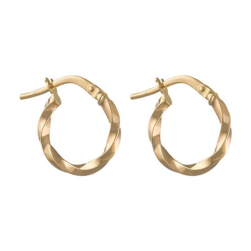 Pure Luxuries London Gift packaged Nabirye 9ct yellow gold
