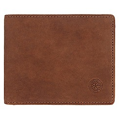 Conkca London - Vintage styled tan 'Merrick' leather wallet