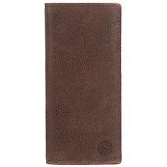 Conkca London - Cognac 'Harrison' RFID leather wallet