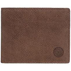 Conkca London - Cognac 'Archie' RFID leather wallet