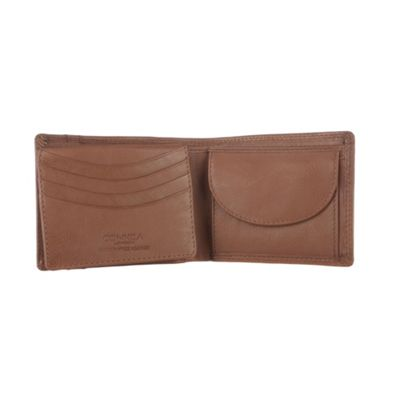 Conkca London Chestnut ´Howard´ veg-tanned leather wallet - . -