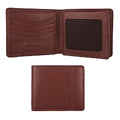 Conkca London - Whiskey 'Rufus' veg-tanned leather wallet