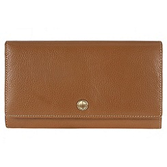 Pure Luxuries London - Oak 'Wells' natural leather purse