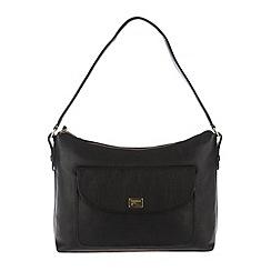 Portobello W11 - Black 'Millie' leather shoulder bag