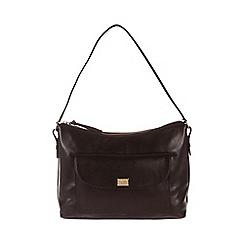 Portobello W11 - Brown 'Millie' fine leather bag