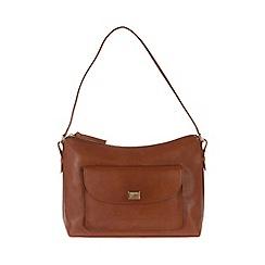 Portobello W11 - Nutmeg 'Millie' fine leather bag