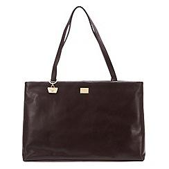Portobello W11 - Brown 'Izzy' leather handbag