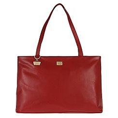 Portobello W11 - Red 'Izzy' leather handbag