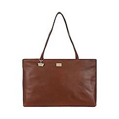 Portobello W11 - Nutmeg 'Izzy' leather hand bag
