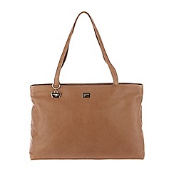 Portobello W11 - Tan 'Izzy' leather hand bag