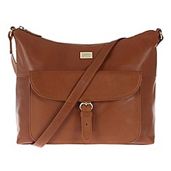 Portobello W11 - Nutmeg 'Etty' leather bag