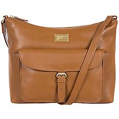 Portobello W11 - Nutmeg 'Etty' fine leather cross-body bag