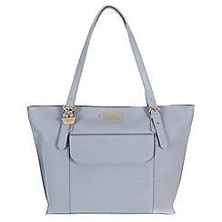 Portobello W11 - Bluebell 'Penelope' Saffiano real leather hand bag