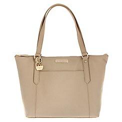 Portobello W11 - Frappe 'Naomi' Saffiano real leather hand bag