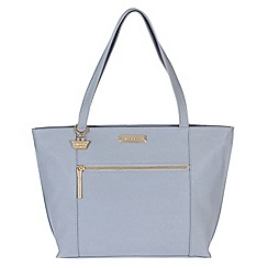Portobello W11 - Bluebell 'Brie' Saffiano real leather hand bag